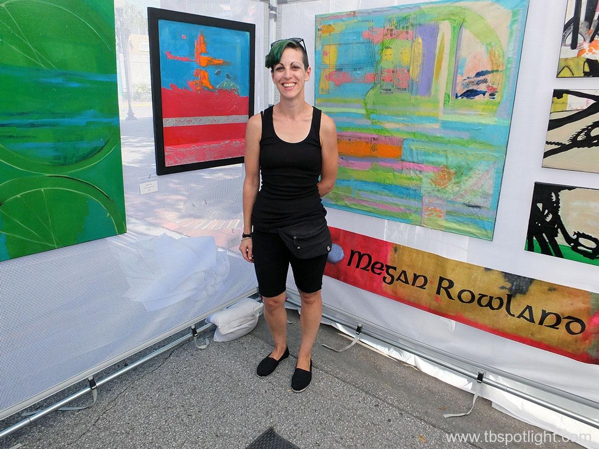 25th Annual Hyde Park Village Art Fair - Megan Rowland