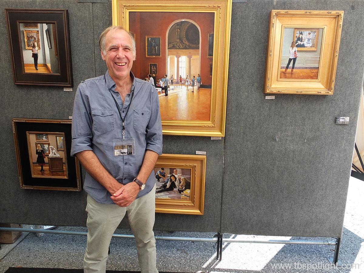 25th Annual Hyde Park Village Art Fair - John Smith